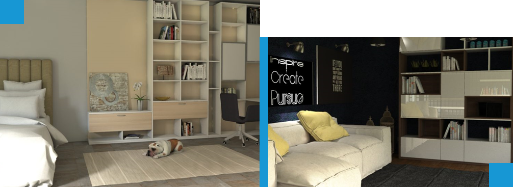 Kompletné zariadenie bytových domov | ZAMA - OFFICE | Kancelárie, kancelária na mieru.